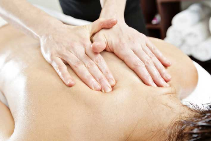Deep tissue massage photo